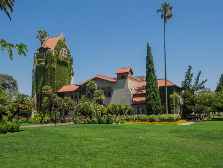 normal school: California State Normal School was a teaching college which original campus later became San Jose State University. Stock Photo