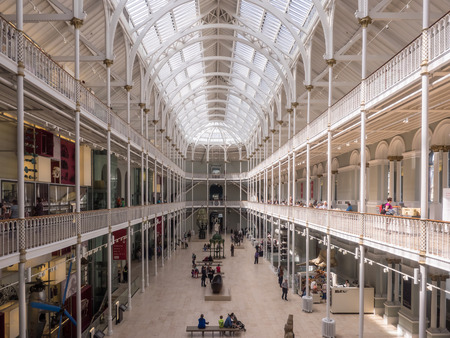 National Museums of Scotland incorporates the collections relating to Scottish antiquities, culture and history and collections covering science and technology, natural history, and world cultures.