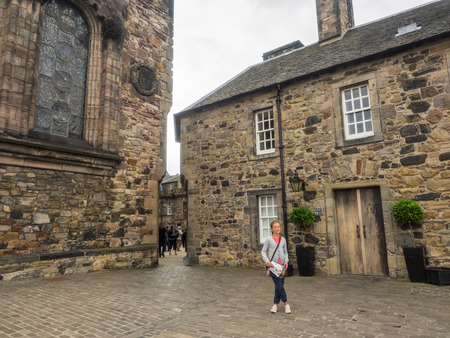 Upper Ward of Edinburgh Castle occupies the highest part of the Castle Rock, and is entered via the late 17th-century Foogs Gate. Editorial
