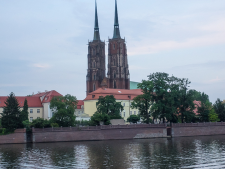 Ostrow Tumski, Cathedral Island, is the oldest part of the city of Wroc?aw in south-western Poland.