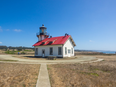 caspar: Point Cabrillo Light is a lighthouse in northern California, United States, between Point Arena and Cape Mendocino, just south of the community of Caspar.
