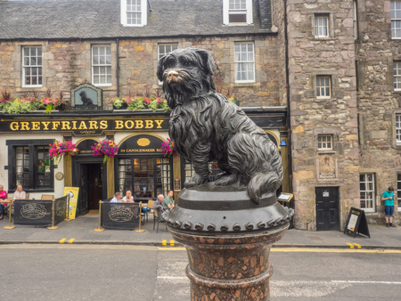 Greyfriars Bobby was a Skye Terrier who became known in 19th-century Edinburgh for supposedly spending 14 years guarding the grave of his owner until he died himself.