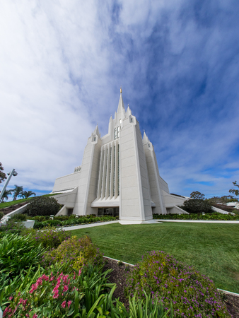 San Diego California Temple is temple of The Church of Jesus Christ of Latter-day Saints. Located near the La Jolla community of San Diego,