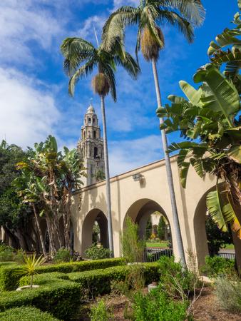 Alcazar Garden is a garden in San Diegos Balboa Park, in the United States.