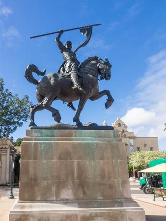 cid: The El Cid sculpture in Balboa Park is an equestrian statue of the medieval hero El Cid Campeador.