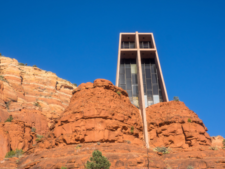 Chapel of the Holy Cross is a Roman Catholic chapel built into the buttes of Sedona, Arizona, run by the Diocese of Phoenix, as a part of St. John Vianney Parish in Sedona.