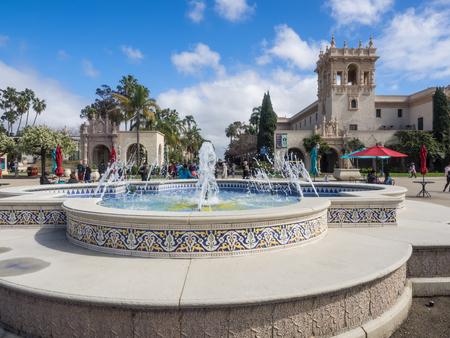 El Prado, a long, wide promenade and boulevard, runs through the Balboa Parks center.