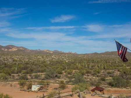 gunfights: Goldfield was a gold mining town, now a ghost town northeast of Apache Junction in Pinal County, Arizona.