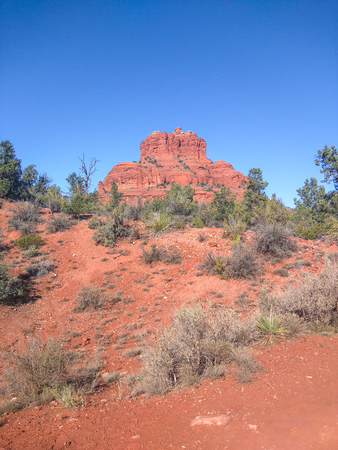 Bell Rock is a popular tourist attraction just north of the Village of Oak Creek, Arizona, south of Sedona in Yavapai County.
