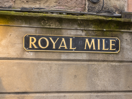 mile high city: Royal Mile is the name given to a succession of streets forming the main thoroughfare of the Old Town of the city of Edinburgh in Scotland.