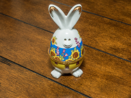 jeweled: Faberge egg is a jeweled egg made as Easter gift.