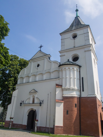 St. John the Baptist's church on market square in Miedzychood, Poland