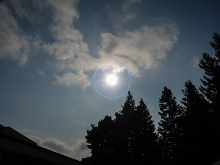 On Monday, August 21, 2017, a total solar eclipse, frequently referred to as the Great American Eclipse, is visible within a band across the entire contiguous United States passing from the Pacific to the Atlantic coast.