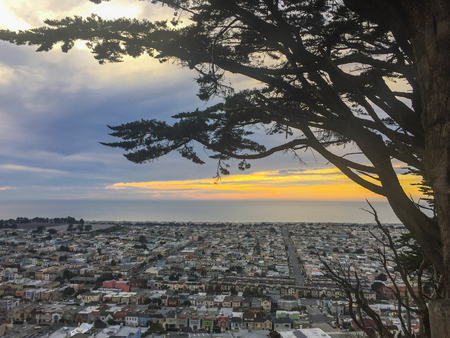 Grand View Park, also referred to as Turtle Hill by local residents, is a small, elevated park in the Sunset District, San Francisco, California.
