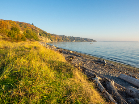 Discovery Park is  park on the shores of Puget Sound in the Magnolia neighborhood of Seattle, Washington.