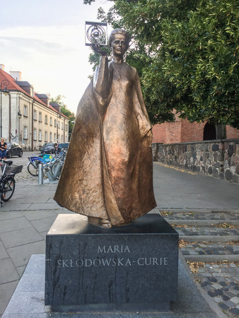 Maria Sklodowska-Curie Museum is a museum in Warsaw, Poland, devoted to the life and work of Polish two-time Nobel laureate. Imagens - 119470626