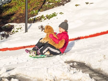 Sledding, sledging or sleighing is a worldwide winter activity, typically carried out in a prone or seated position on a vehicle generically known as a sled (North American), a sledge (British), or a sleigh.