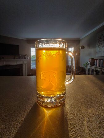 India pale ale (IPA) is a hoppy beer style within the broader category of pale ale. Фото со стока
