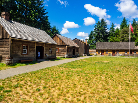 Fort Nisqually was an important fur trading and farming post of the Hudsons Bay Company in the Puget Sound area, part of the Hudsons Bay Companys Columbia Department. It was located in what is now DuPont, Washington. Today it is a living history museum Editorial