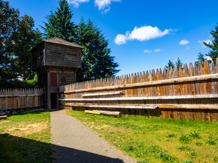 Fort Nisqually was an important fur trading and farming post of the Hudsons Bay Company in the Puget Sound area, part of the Hudsons Bay Companys Columbia Department.