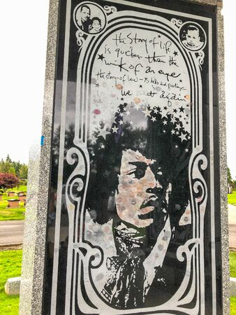 Official website of the Jimi Hendrix family and the new Jimi Hendrix Memorial at Greenwood Memorial Park in Renton, Washington. 新聞圖片