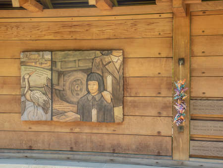 Bainbridge Island Japanese American Exclusion Memorial is an outdoor exhibit commemorating the internment of Japanese Americans from Bainbridge Island in the state of Washington. It is located on the south shore of Eagle Harbor, opposite the town of Winsl