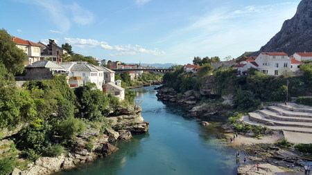 mostar: mostar river