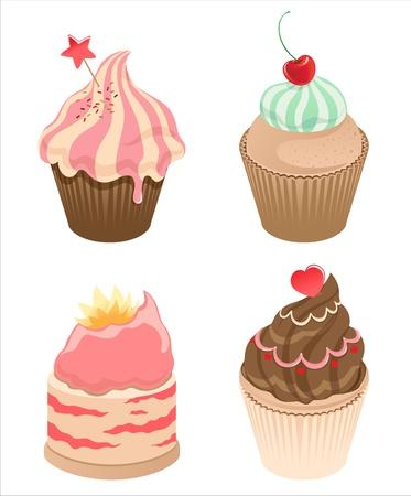 cupcakes Stock Vector - 9942260