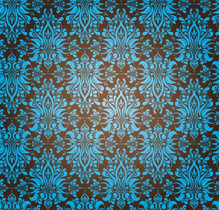 broun:  Abstract Seamless Ornamental Wallpaper