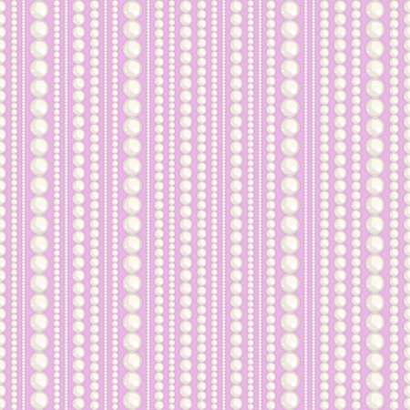 pearls and threads: Seamless pattern with pearl thread