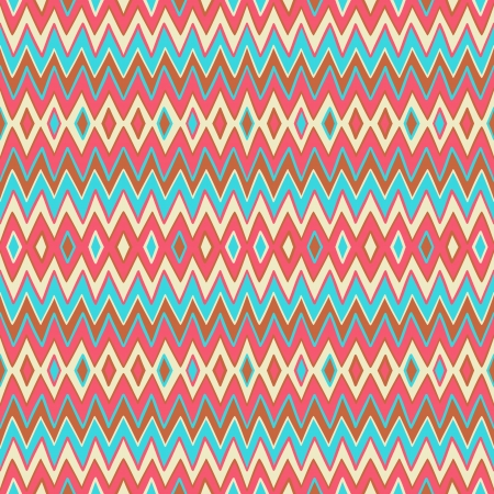 yellow african: seamless geometric striped color pattern Illustration