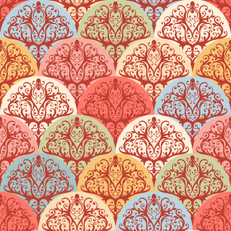 beautiful natural seamless abstract color pattern Vector