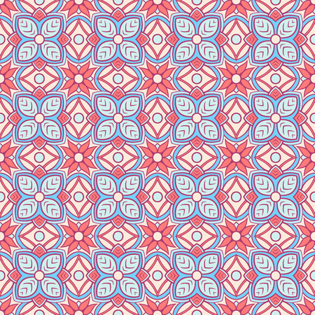 orange pattern: beautiful vintage abstract natural blue and orange pattern