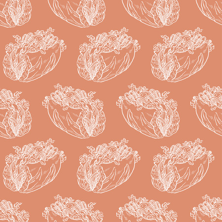 deli meat: cute seamless background of tasty sandwiches. hand-drawn illustration