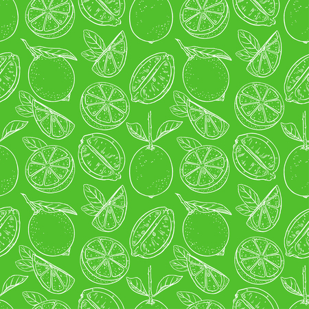 seamless background of cute lemons. hand-drawn illustration