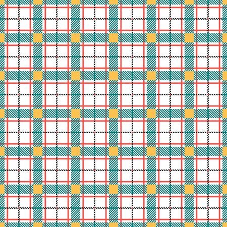 Cute seamless cage pattern. Vector illustration Stock Illustratie