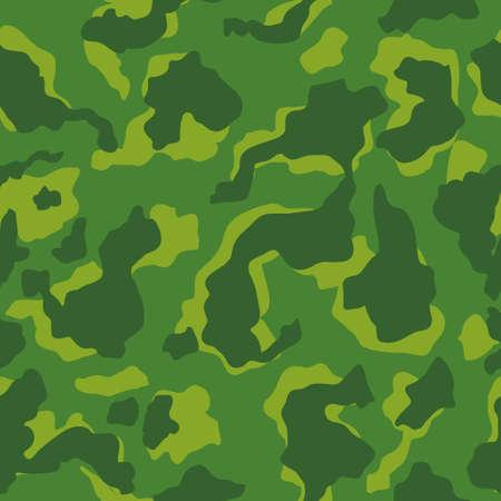Green Camouflage seamless pattern. Vector illustration 일러스트