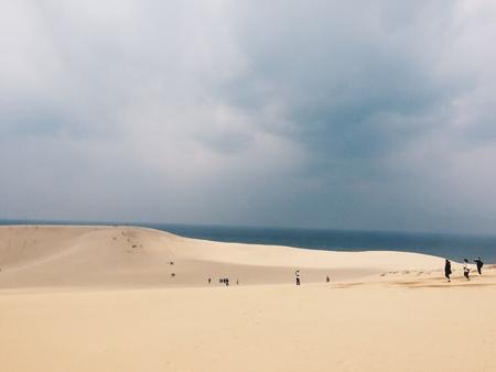 dunes: Beautiful sand dunes in Tottori, Japan