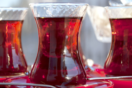 Turkish tea. Standard-Bild
