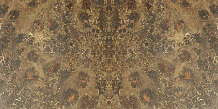 fused: stone texture brown orange background Stock Photo