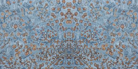 fused: stone texture blue orange background