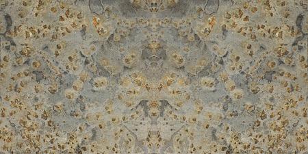 fused: gray slate stone texture orange background Stock Photo