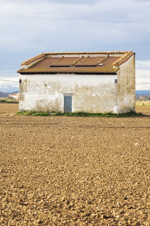 squire: exterior of the traditional pigeon house or  dovecote  in Leon, Spain