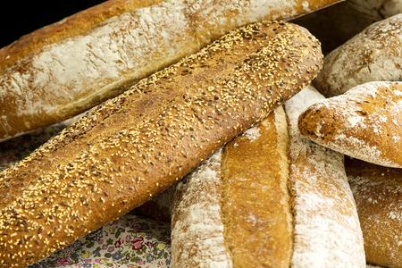 EXHIBIDOR: Pan de varios tipos