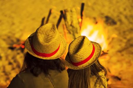 Saint John bonfires in Coruna, Galicia, International Tourist Interest
