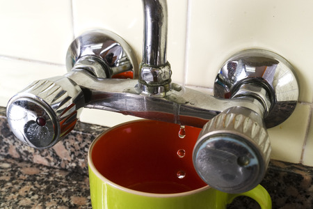 old faucet to repair o change by  plumber