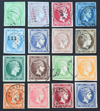 Hermes stamps