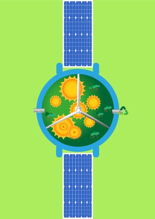 Time for renewable energy photo
