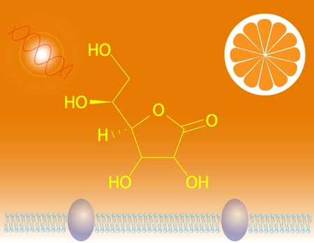 ascorbic: Vitamin C