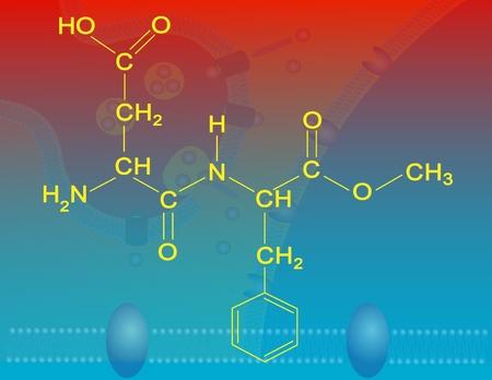 aspartame: Aspartame molecular structure